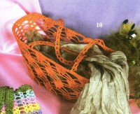 Вязание крючком. Сумка - корзинка.