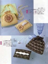 Вязание крючком. Вечерняя сумочка.