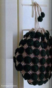 Вязание крючком. Сумочка - мешочек.