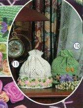 Вязание крючком. Милые и элегантные сумочки для мелочей.