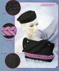 Вязание крючком. Сумочка с отделкой косой.